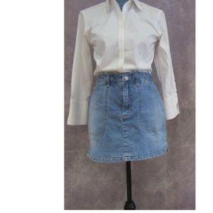 Gloria Vanderbilt Denim Skort Skirt/Shorts Size 10